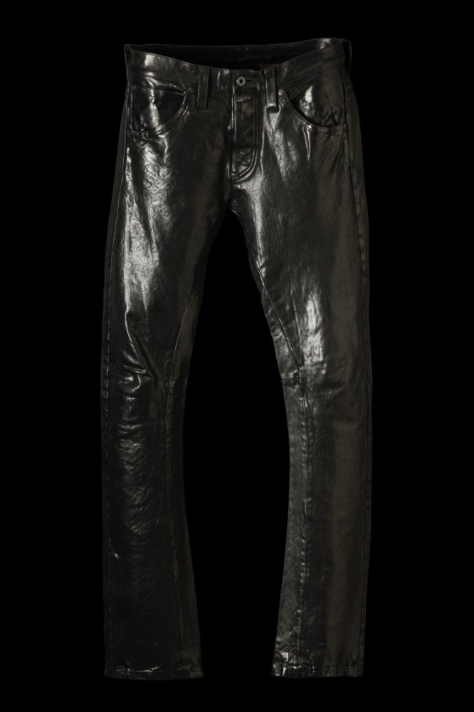 """ITALY SHOULDER """"GARMENT-DYED"""" PANTS"""