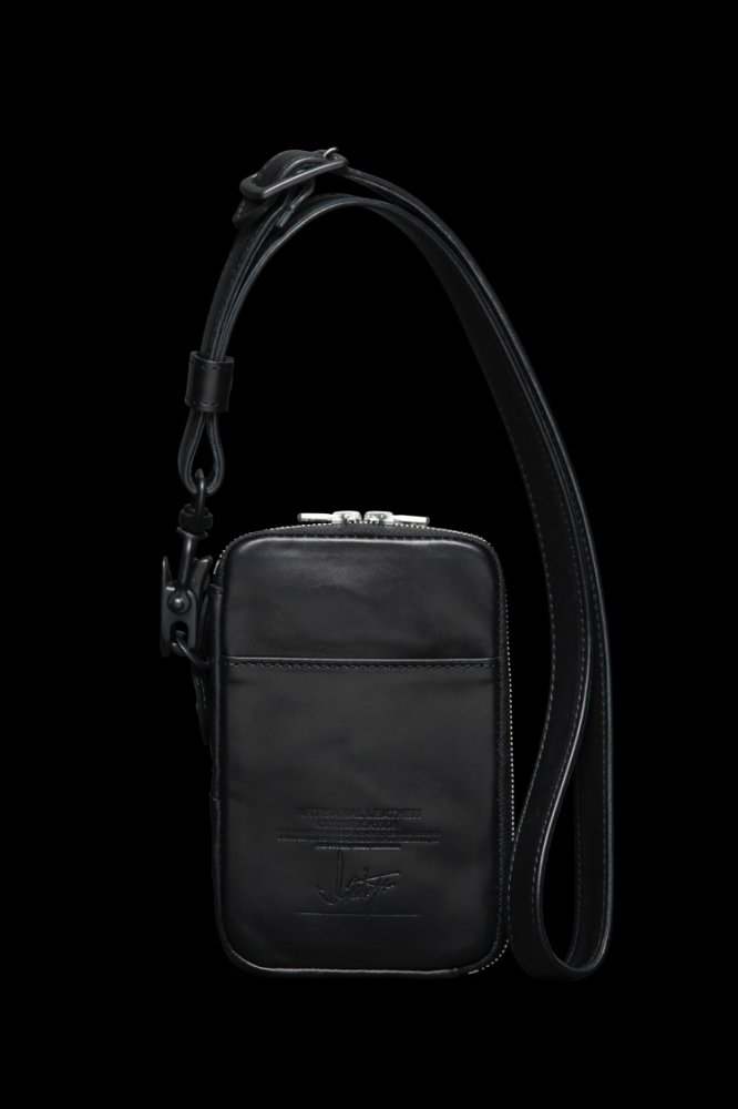 TANNED JAPAN HORSE WAX FINISH DETACHABLE STRAP BAG