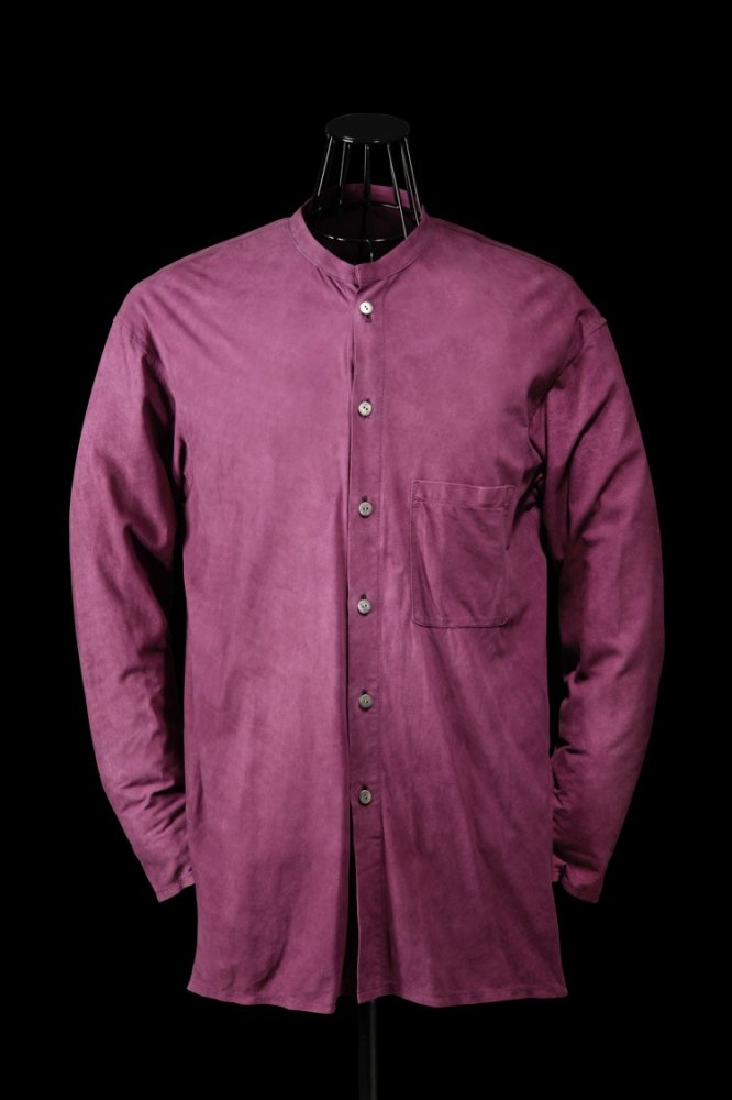 KANGAROO SUEDE LONG SHIRT