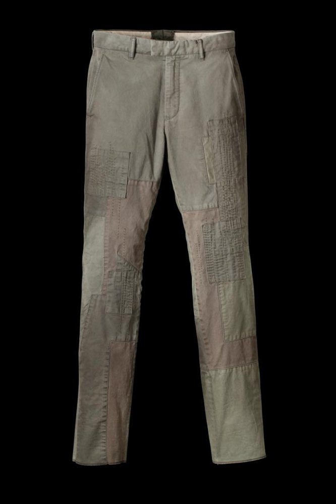 COTTON CHINO BORO PANTS