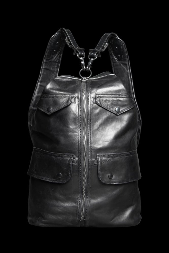TANNED JAPAN HORSE WAX FINISH BONSAC BACKPACK