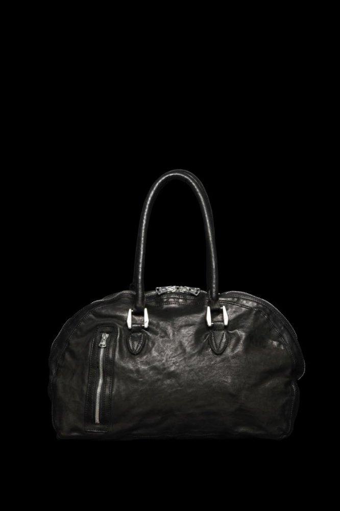 ITALY SHOULDER + JP STEER GARMENT-DYED GYM BAG