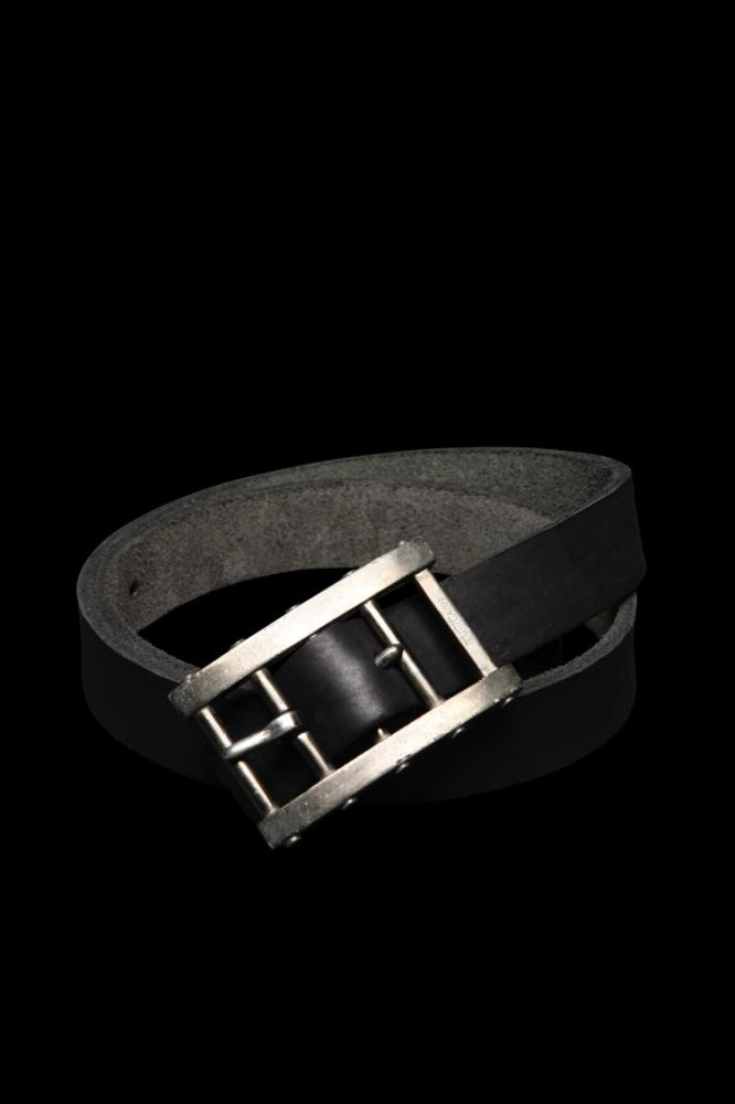 JP STEER GARMENT-DYED ADJUSTER BUCKLE BELT【30mm】