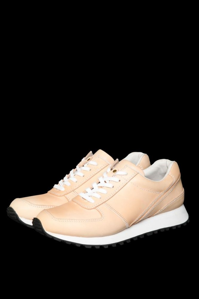 STEER TANNED LEATHER SNEAKERS