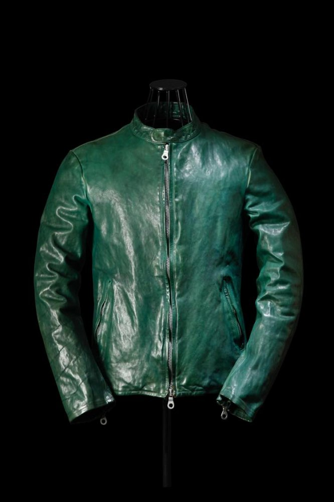 "ITALY SHOULDER ""GARMENT-DYED"" SINGLE RIDERS"
