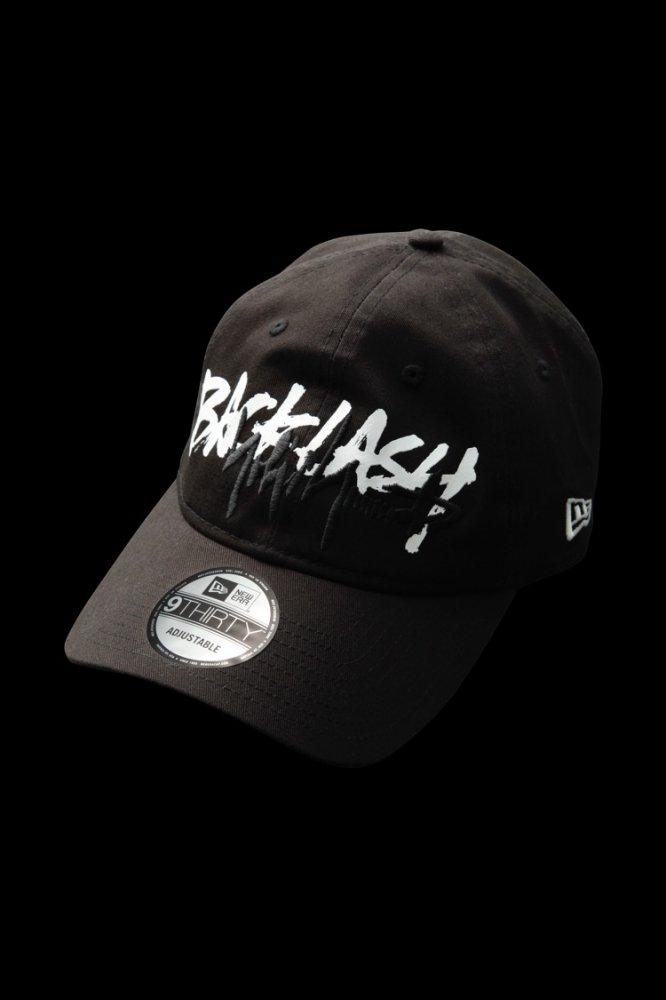 BACKLASH x Yohji Yamamoto x NEWERA TRIPLE NAME CAP