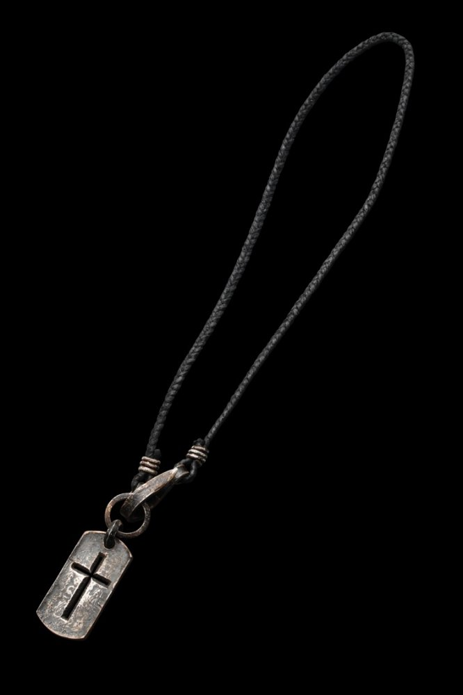 + JUN UEZONO 【DOG TAG CROSS】