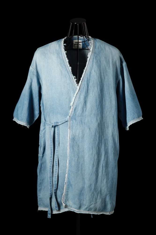 COTTON-LINEN DENIM HAORI