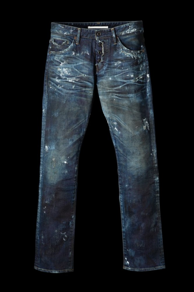 "CRAFTED BY RESURRECTION STRETCH DENIM ""STRAIGHT"""