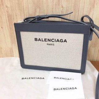 バレンシアガ ショルダーバッグ BALENCIAGA 390641 AQ37N ナナメガケ GY 1380
