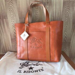 イルビゾンテ トートバッグ IL BISONTE A2591 ヤキヌメ