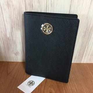 トリーバーチ パスポートケース TORY BURCH ROBINSON ブラック