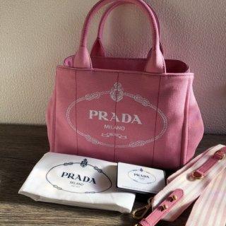 18SS 新作 PRADA プラダ カナパ トートバッグ