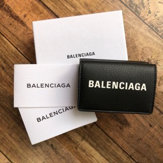 バレンシアガ 三つ折財布 エブリデイ ミニ 財布
