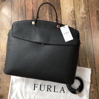 新品 FURLA フルラ マイパイパー L ハンドバッグ