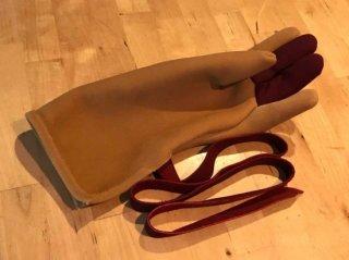 エガケ(燻し茶) STOOPER Falconry Glove Japanese style -Egake-