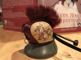 モヒカンフード(金襴) Mohawk hood -Gold brocade-