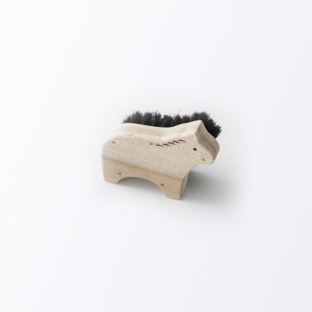 アニマルブラシ 馬毛ボディブラシ