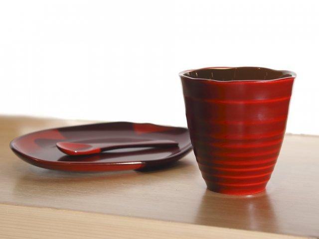 ティーカップ&手元皿セット