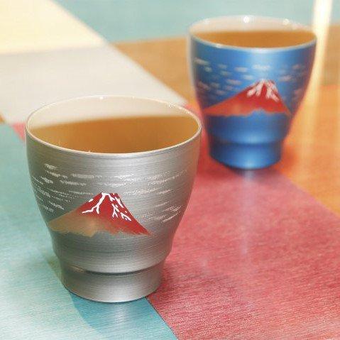 フリーカップ 富士絵付