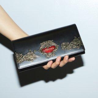 ローズジャルダン かぶせ長財布