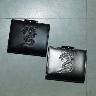 ATドラゴン 二つ折りがま口財布