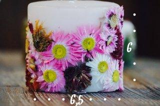 botanical candle spring