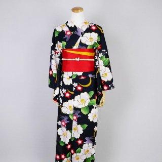 浴衣セット 椿や桜