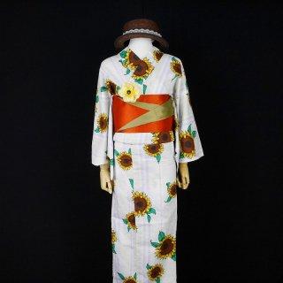 浴衣セット 向日葵