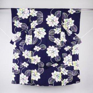 浴衣 カラフルな花