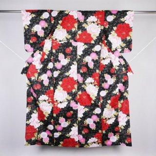 浴衣 菊や牡丹