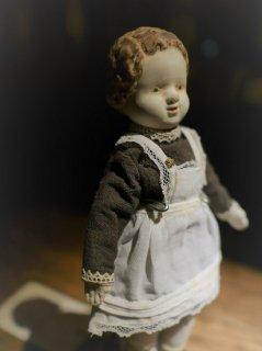 【人形ウィークプレゼント応募対象】ヂェーヴァシュカ(白いエプロン)