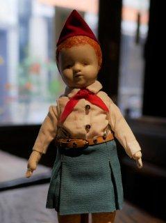 【人形ウィークプレゼント応募対象】ヂェーヴァシュカ(赤いスカーフ)