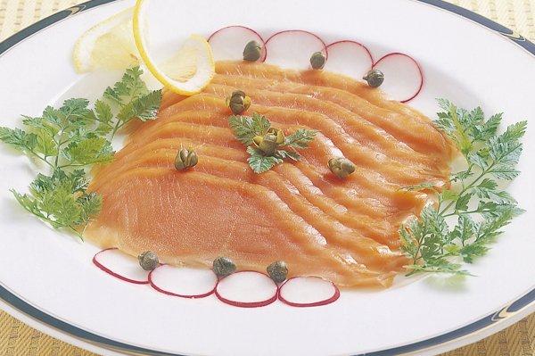 紅鮭スモークサーモン(アメリカ産)150g×2(スライス)