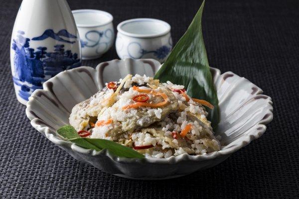 ほっけ飯寿司(礼文産)1kg