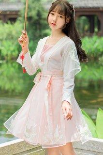 華ロリ 中国宮廷風ドレス チャイナドレス うさぎ Qi Lolita チャイニーズロリータ