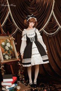 ロリータ Diamond Honey ドール風刺繍ジャンパースカート ジャンスカのみ 甘ロリ