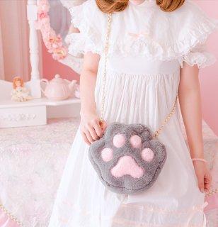 ロリータ Luna Lucifer 猫の肉球ぬいぐるみバッグ バッグのみ 小物 甘ロリ