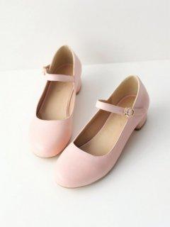 ロリータ Luna Lucifer 3cmヒールマカロンカラーシューズ 靴のみ 普段使い 歩きやすい ロリータ靴