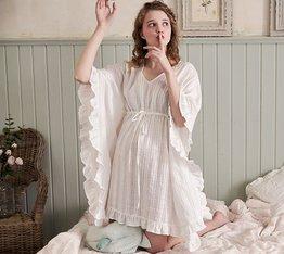 ロリータ ナイトウェア ロング袖フリルネグリジェ ネグリジェのみ ミニ丈 部屋着 姫ロリ 白ロリ