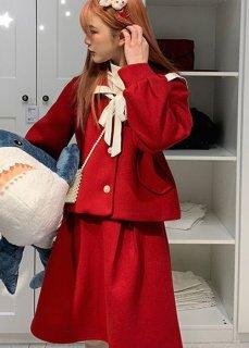 ロリータファッション 秋冬 セーラーロリータ スカート スカートのみ販売 セーラー服 ボトムス 制服ロリータ 制服 かわいい loli0921