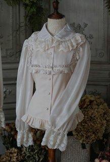 ロリータ SweetDreamer Vintage シングルフリルブラウス ブラウスのみ販売 長袖 甘ロリ 姫ロリ クラロリ
