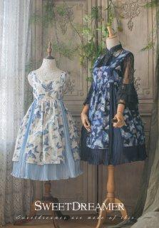 ロリータ SweetDreamer Vintage 華ロリ 蝶のジャンパースカート ジャンスカのみ ブラウス別売り プリーツ 蝶