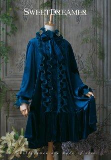 ロリータ SweetDreamer Vintage Vintageスタイル フリルワンピース ワンピのみ ゴスロリ 黒ロリ リボン
