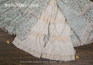 ロリータ Sweet Dreamer Vintage たっぷりフリルドロワーズ ドロワーズのみ インナー 甘ロリ 姫ロリ リボン