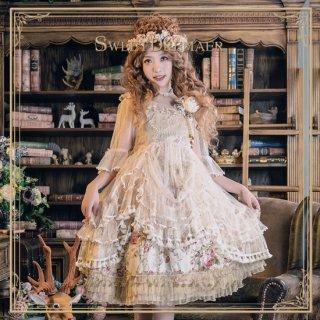 ロリータ SweetDreamer Vintage ドールシースルーワンピース ワンピのみ 透け 重ね着用 甘ロリ 姫ロリ