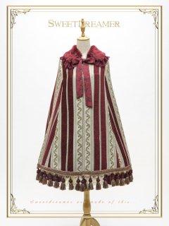 ロリータ SweetDreamer Vintage 宮廷風クラシカルマントコート マントのみ ファー襟 ゴスロリ クラロリ