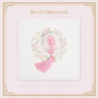【ポスト投函対応】ロリータ Sweet Dreamer Vintage 華ロリ風ローズブローチ ブローチののみ コサージュ 花 甘ロリ 姫ロリ 和ロリ