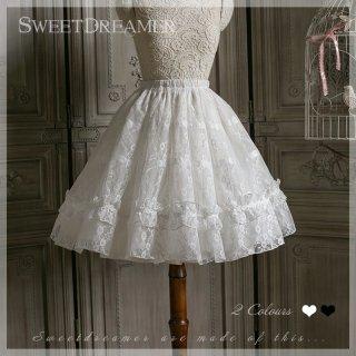 ロリータ Sweet Dreamer Vintage レーススカート スカートのみ ペチコート 両用 甘ロリ ゴスロリ フリル