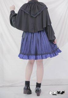 Dolly Delly ロリータ チュール付きスカート スカートのみ リボン 鳥かごスカート フレアスカート ゴスロリ クラロリ loli1221